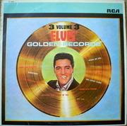 LP - Elvis Presley - Elvis' Golden Records Volume 3 - ORANGE LABELS