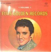 LP - Elvis Presley - Elvis' Golden Records Volume 1 - LSP 1707 GERMAN ORIGINAL