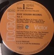 LP - Elvis Presley - Elvis' Golden Records Volume 3