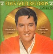 LP - Elvis Presley - Elvis' Gold Records Volume 4 - ORANGE LABELS