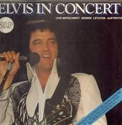 Double LP - Elvis Presley - Elvis In Concert