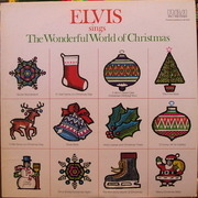 LP - Elvis Presley - Elvis Sings The Wonderful World Of Christmas