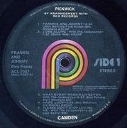 LP - Elvis Presley - Frankie & Johnny