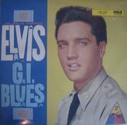 LP - Elvis Presley - G.I. Blues - LIVING STEREO GERMAN