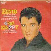LP - Elvis Presley - Girl Happy