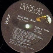 LP - Elvis Presley - Girls! Girls! Girls!