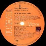 LP - Elvis Presley - Golden Boy Elvis