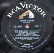 LP - Elvis Presley - Harum Scarum