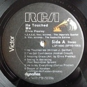 LP - Elvis Presley - He Touched Me