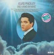 LP - Elvis Presley - His Hand In Mine