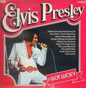 LP - Elvis Presley - I Got Lucky - Turquoise label