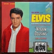 LP - Elvis Presley - Kissin' Cousins - Stereo, no photo