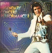 Double LP - Elvis Presley - Legendary Concert Performances