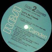 LP - Elvis Presley - Let's Be Friends