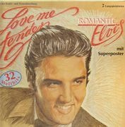 Double LP - Elvis Presley - Love Me Tender - Romantic Elvis - w. Poster