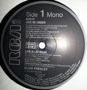 LP - Elvis Presley - Love Me Tender / Love In Las Vegas / Follow That Dream