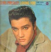 LP - Elvis Presley - Loving You