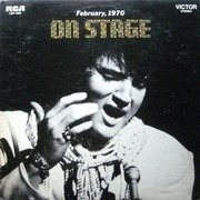 LP - Elvis Presley - On Stage - February, 1970