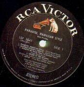 LP - Elvis Presley - Paradise, Hawaiian Style - STEREO