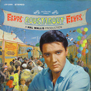 LP - Elvis Presley - Roustabout - WHITE TOP STEREO US