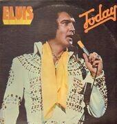 LP - Elvis Presley - Today - TAN LABELS