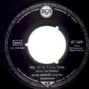 7'' - Elvis Presley - A Big Hunk O' Love - S5