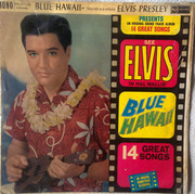 LP - Elvis Presley - Blue Hawaii - UK MONO