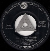 7'' - Elvis Presley With The Jordanaires - Hard Headed Woman, Don't ask me why - S4 German