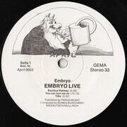 LP - Embryo - Live - Original 1st German