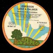 LP - Emerson, Lake & Palmer - Pictures At An Exhibition