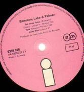 LP - Emerson, Lake & Palmer - Emerson, Lake & Palmer - PINK ISLAND