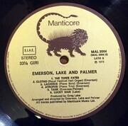 LP - Emerson, Lake & Palmer - Emerson, Lake & Palmer