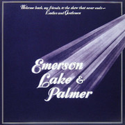 Double CD - Emerson, Lake & Palmer - Welcome Back My Friends To The Show That Never Ends - Ladies And Gentlemen - Still sealed