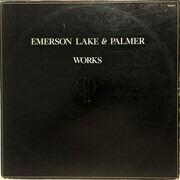 Double LP - Emerson, Lake & Palmer - Works Volume 1 - RI, Trifold