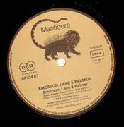 LP - Emerson, Lake & Palmer - Emerson, Lake & Palmer - MANTICORE