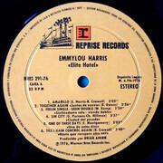 LP - Emmylou Harris - Elite Hotel