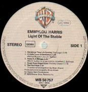 LP - Emmylou Harris - Light Of The Stable