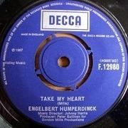 7'' - Engelbert Humperdinck - Take My Heart / Winter World Of Love