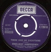 7'' - Engelbert Humperdinck - There Goes My Everything / You Love