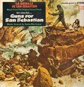 LP - Ennio Morricone - Guns for San Sebastian