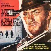LP - Ennio Morricone - Music From The Original Sound Tracks Of 'A Fistful Of Dollars' & 'For A Few Dollars More'