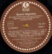 LP - Ennio Morricone - Sound Giganten