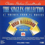 Double CD - Ennio Morricone - The Singles Collection - Volume Two