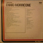 LP - Ennio Morricone - I Western