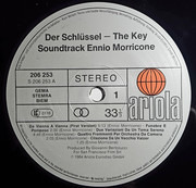 LP - Ennio Morricone - The Key - Der Schlüssel (Original Soundtrack)