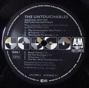 LP - Ennio Morricone - The Untouchables (Original Motion Picture Soundtrack)