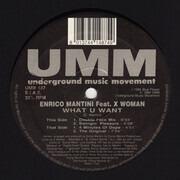 12inch Vinyl Single - Enrico Mantini - What U Want - Still Sealed