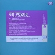12'' - En Vogue - Don't Let Go (Love)