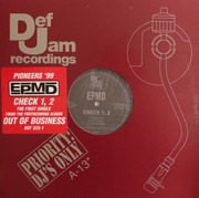 12inch Vinyl Single - Epmd - Check 1, 2 / Crossover