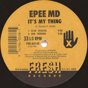 12inch Vinyl Single - Epmd - It's My Thing / You're A Customer